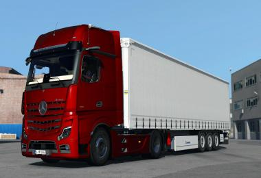 Mercedes Benz New Actros 2019 by Actros 5 Crew v1.2