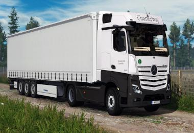 Mercedes Benz New Actros 2019 by Actros 5 Crew v1.3