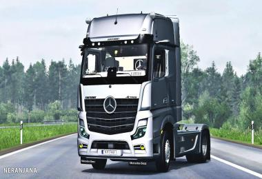 Mercedes Benz New Actros 2020 Mirror Cam 1.37
