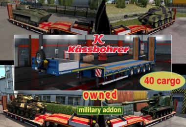 Military Addon for Ownable Trailer Kassbohrer LB4E v1.1.3