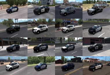 Municipal Police in Traffic Pack v1.0 1.38.x