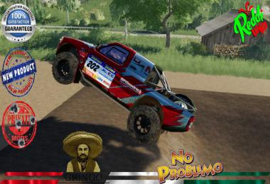 NAVARA T1 PICK UP RED DAKAR v1.5.0.0