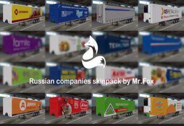 Pak skins of Russian companies v1.6