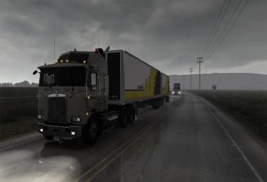 Realistic Rain v3.7 by Darkcaptain ATS 1.38