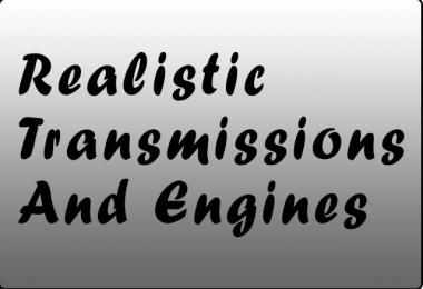 Realistic Transmissions and Engines 1.37