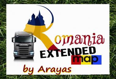 Romania Extended Map v2.6 1.37