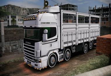 Scania 124L Topline Unlocked Version 1.37