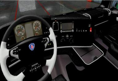 SCANIA R2009 Black Interior v1.0