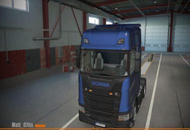 Scania S Beige/Grey Interior (4 VARIANTS) v1.0