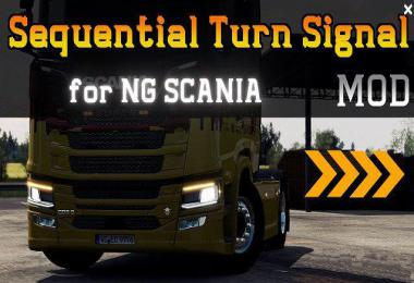 Sequential Turn Signal Mod for Next Gen Scania v2.0
