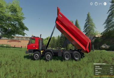 Tatra TerrNo1 8x8 + korba S1 v1.0