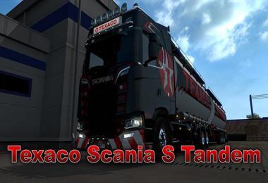Texaco Scania S Tandem skin v1.0