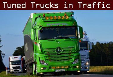 Tuned Truck Traffic Pack by Trafficmaniac v2.5
