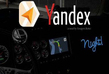 Yandex Navigator Night Version v1.4