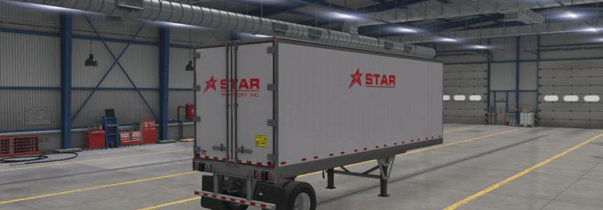 Star Transport Inc. SCS Box Trailer Skin Package v1.0