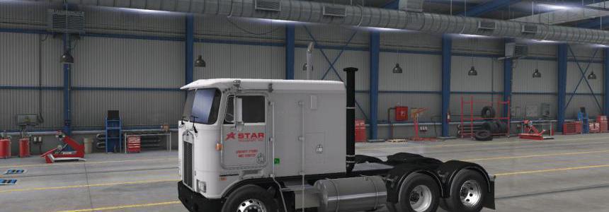 Star Transport, Inc. Skin for Overfloater's Kenworth K100E 1.38