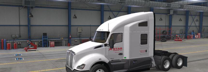 Star Transport Inc. Skins for SCS Default Trucks v2.2