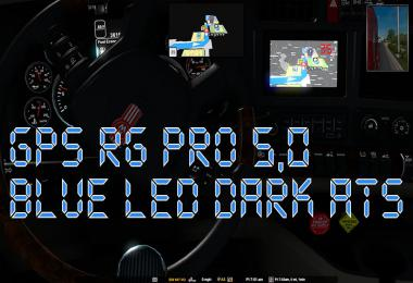 GPS RG PRO BLUE LED DARK ATS v5.0