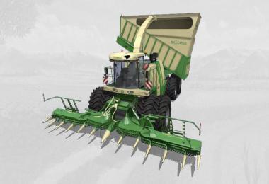 FS19 Krone BigX 1180 cargo v1.5