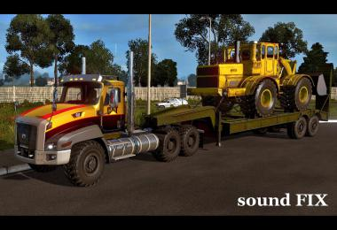 Sound fix for Caterpillar CT660 v1.0
