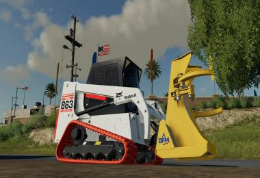 Bobcat 863 Turbo With Bobcat Shovel v1.0.0.0
