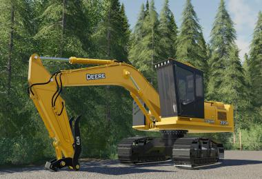 Deere 2054 Logger Series Road Builder v1.0