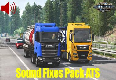 [ATS] Sound Fixes Pack v20.44 1.38.x