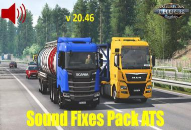 ATS Sound Fixes Pack v20.46 1.38.x