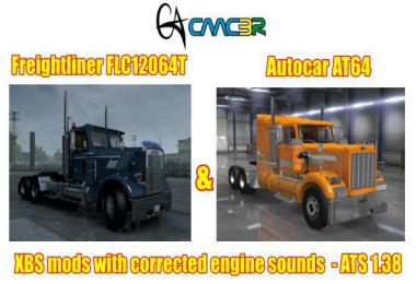 XBS Trucks Engines Sounds Repair 1.38.x