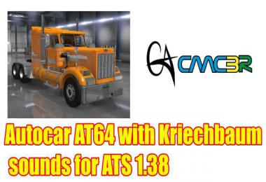 Autocar AT64 with Kriechbaum sounds for ATS 1.38
