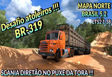 BRAZIL NORTH MAP v5.2 ETS2 1.38