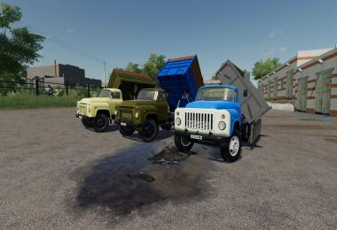 GAZ 52/53 PACK OT SD MODS v2.0.0.0