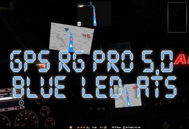 GPS RG PRO BLUE LED ATS v5.0