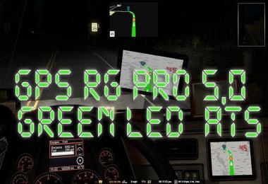 GPS RG PRO GREEN LED ATS v5.0