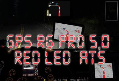 GPS RG PRO RED LED ATS v5.0