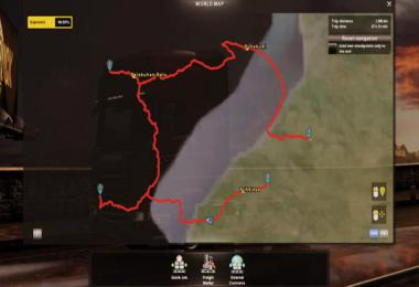 ICRF MAP MOD ETS2 1.37 1.38