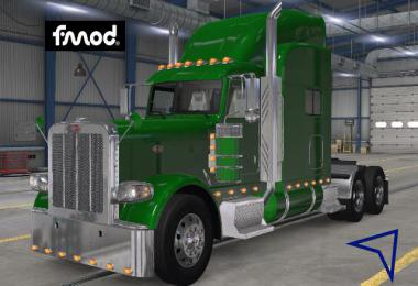 Kenworth T680 Stock Sounds for Peterbilt 389 v1.0