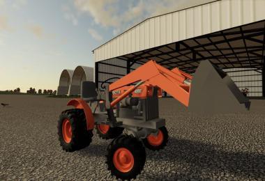 Kubota mini tractor v1.1