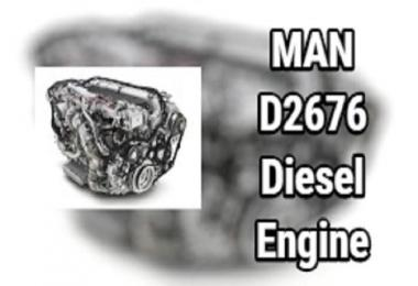 MAN D2676 Diesel Engine v1.0 1.38.x