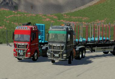 MAN TGX Forest Semitrailer Pack v1.1.0.0