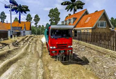 Map Sumsel by Tonny Ariyanto ETS2 1.32 to 1.38