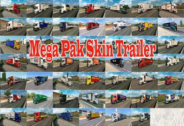 Mega Trailer Skin Pack by Olek v1.0