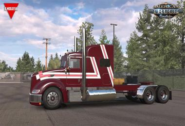 Peterbilt 386 + Interior v1.5 by Modjeski 1.38.x