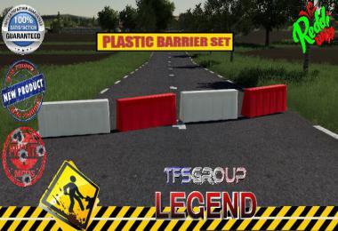 PLASTIC BARRIERE SET v1.5.0.0