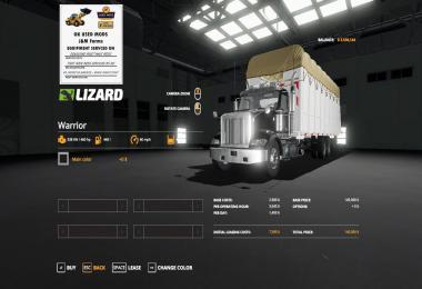 Round cotton module truck v1.0