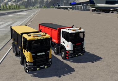 Scania 8x8 Pack Fixed Unzip v11
