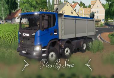 Scania XT 8x8 Kipper v1.0.0.0