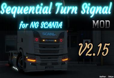 Sequential Turn Signal mod for Next gen Scania v2.15