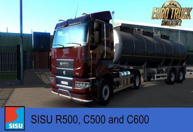 SISU R500, C500, C600 v1.2.2 for 1.38.x