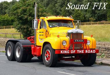 Sound fix for Mack B62 mTG v1.0